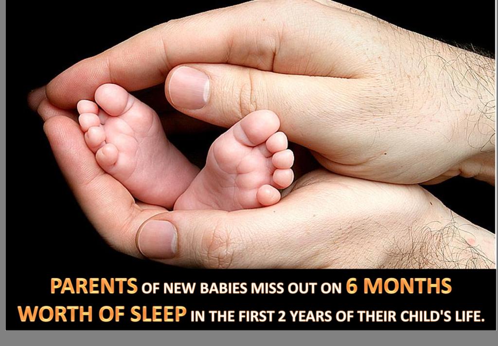 Sleeping with New Born